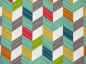 Mobile Preview: Baumwoll Stoff Bio Chevron