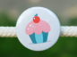 Preview: Button Muffin mint/rosa 25mm