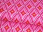 Preview: Baumwoll Stoff Diamant pink