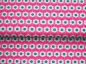Mobile Preview: Baumwoll Stoff Sommerwiese Blumen pink/mint