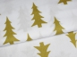Mobile Preview: Baumwoll Stoff GOLD Tannenbaum