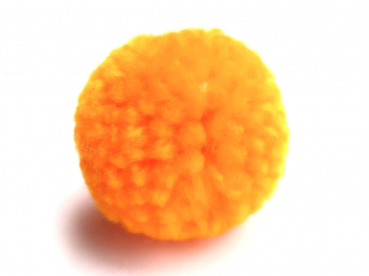 Bommel Pompon 30mm NEON orange